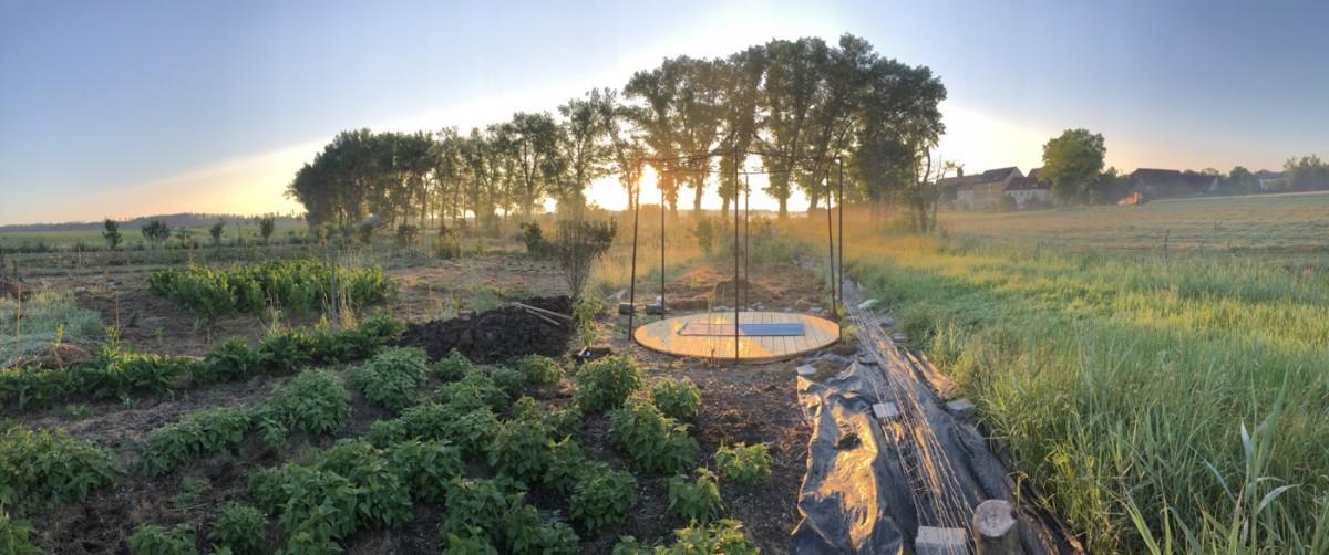 Ein (neuer) Ort der Ruhe im Waldgarten
