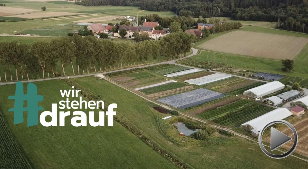 Wir stehen drauf. Schloss Tempelhof, Reallabor für zukunftsfähige Landwirtschaft. Mit Stefan Schwarzer